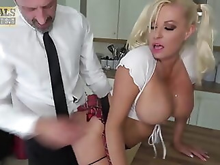 big boobs blonde blowjob