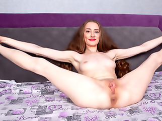 red head high heels masturbation