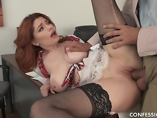 red head big tits hd