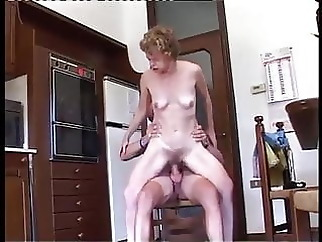 old & young anal hairy