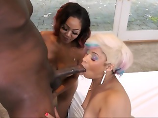 ebony big ass blonde