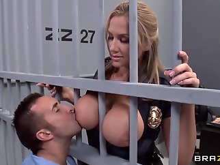 blowjob big cock uniform