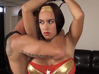 brunette bdsm big tits